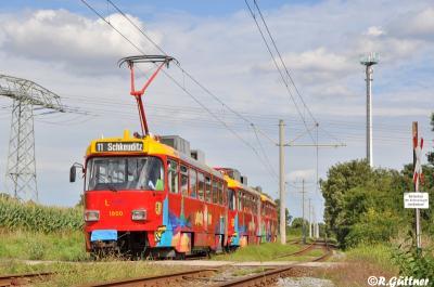 11.08.2016: Gläserner Großzug auf Linie 11 unterwegs