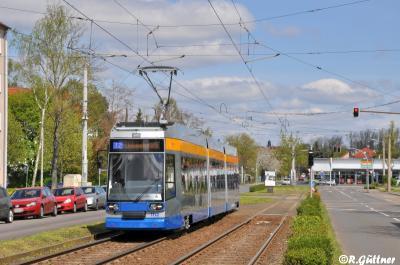 20.04.2017: NGT8 1112 nach Hauptuntersuchung auf Linie 12