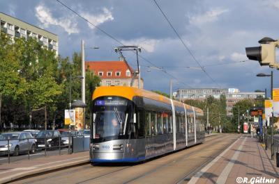 29.08.2017: NGT10 1003 auf Linie 4 unterwegs