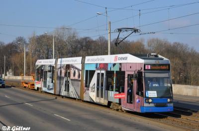 16.03.2016: Überführung der Drehgestell-Lore 5511 nach Dölitz