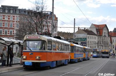 07.04.2016: T4D-M2 2046 von Leutzsch nach Paunsdorf überführt